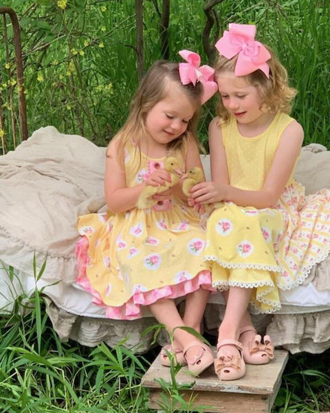 Swoon Baby Spring Buttercup Easter Dress. C - JEN'S KIDS BOUTIQUE