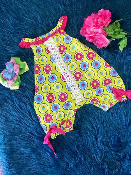 2019 Summer Sassy Me Sweet Fruit Bubble Infant Romper - JEN'S KIDS BOUTIQUE