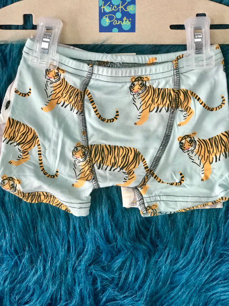Summer Kickee Pants Boxer Briefs Sky Tiger & Indian Elephant - JEN'S KIDS BOUTIQUE