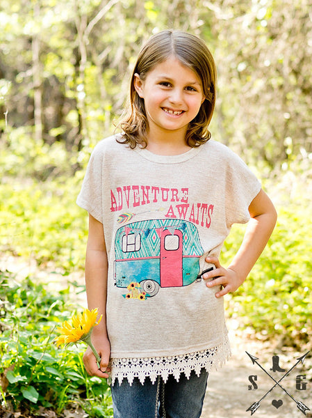 Southern Grace Spring Adventure Away Shirt