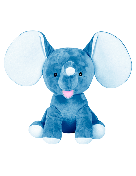 Cubbies Dumble The Royal Blue Elephant. - JEN'S KIDS BOUTIQUE