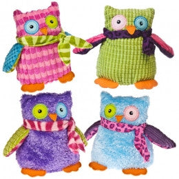"Mary Meyers Pink Owl 6"" - JEN'S KIDS BOUTIQUE"