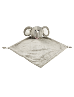 CUBBIES GRAY ELEPHANT BLANKIE - JEN'S KIDS BOUTIQUE
