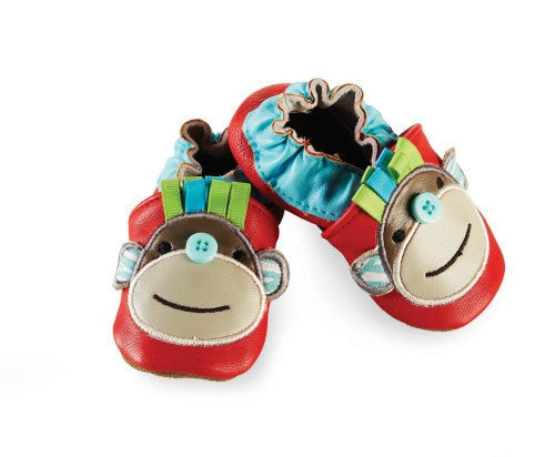 Mudpie Leather Monkey Shoes - JEN'S KIDS BOUTIQUE