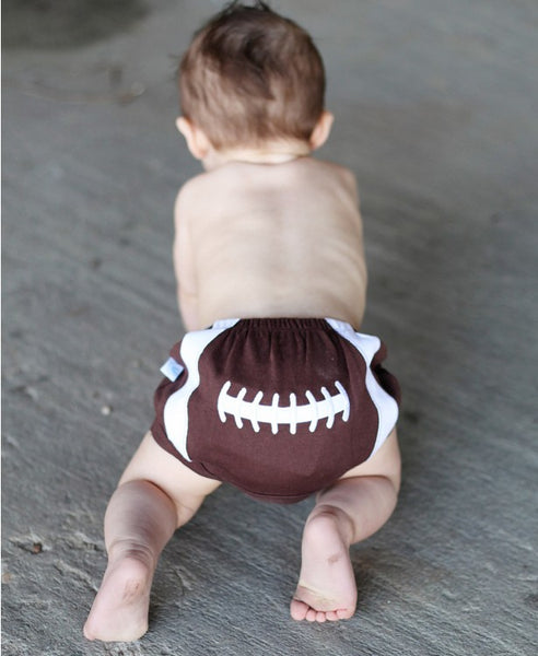 Rugged Butts Football bloomer - JEN'S KIDS BOUTIQUE