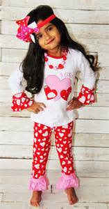 Princess Love Valentines Pant Set - JEN'S KIDS BOUTIQUE