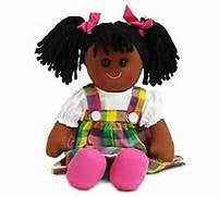 "Burton & Burton Kidz Like Me ~ Kara ~ 16"" Cloth Play Baby Doll Plush - JEN'S KIDS BOUTIQUE"