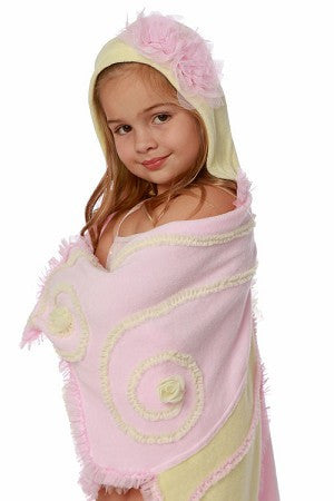 Kate Mack Garden Spite Pink/Yellow Swimsuit Cover - JEN'S KIDS BOUTIQUE