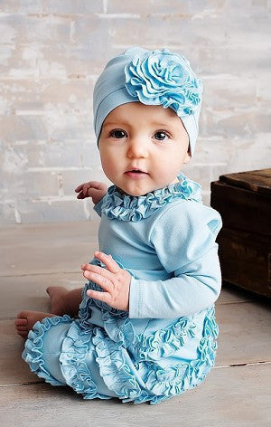 Lemon Loves Layette Cinderella Peony Romper - JEN'S KIDS BOUTIQUE