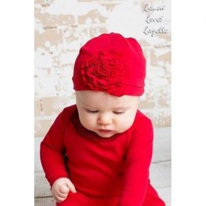 Lemon Loves Layette Bijou Red Hat - JEN'S KIDS BOUTIQUE