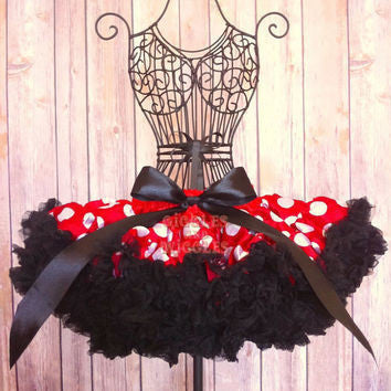 Princess Minnie Polka Dot Tutu Skirt - JEN'S KIDS BOUTIQUE