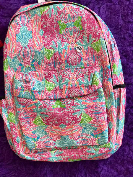 Lilly 2017 Girls Adorable Blue/Pink  Fall Backpack - JEN'S KIDS BOUTIQUE