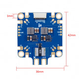 SucceX 2-8S Power Distribution Board PDB w/ 5V/12V BEC