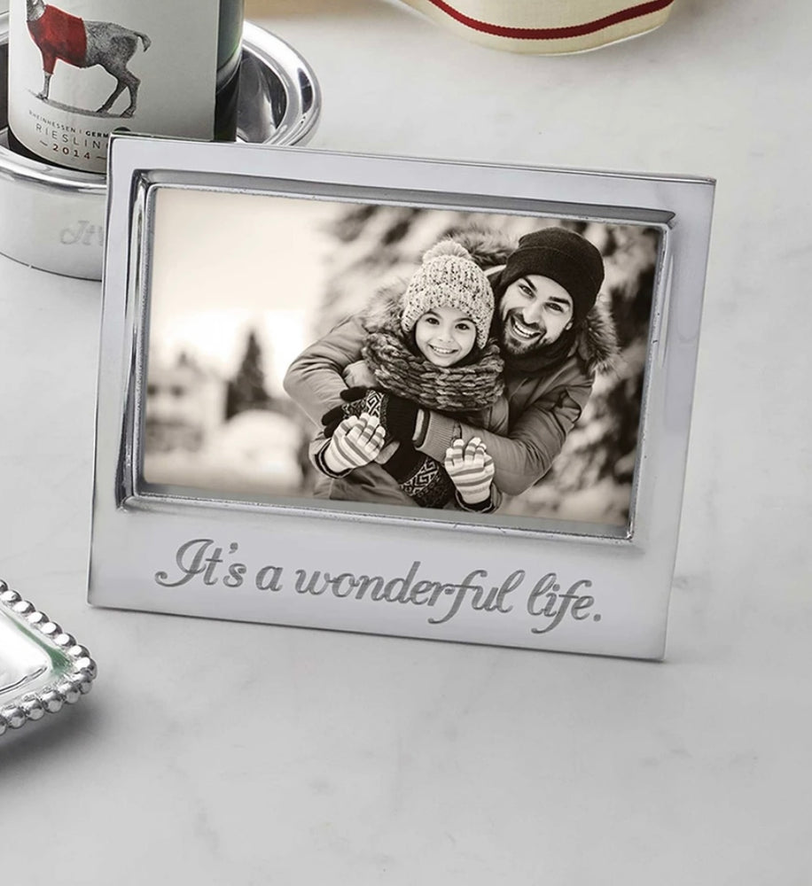 It's a Wonderful Life 4x6 Frame