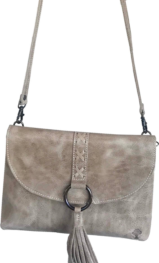 Oak River Delta crossbody Leather Handbag