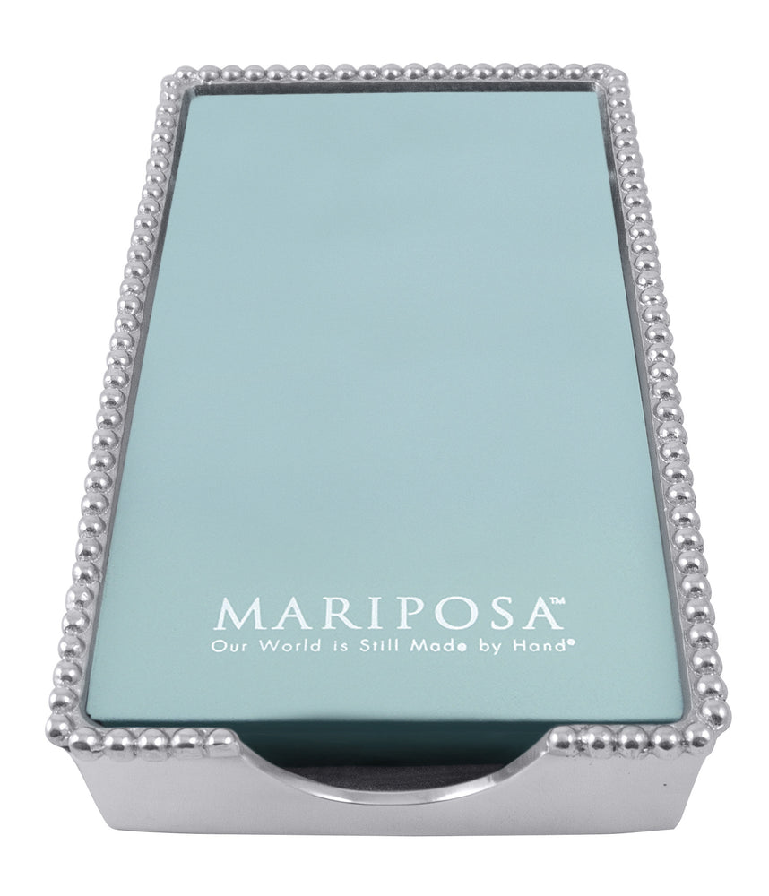 Mariposa Beaded Guest Towl Box (Empty)