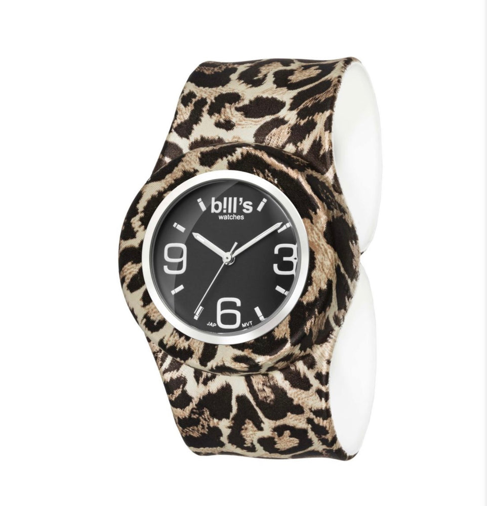 Classic Band Leopard Watch