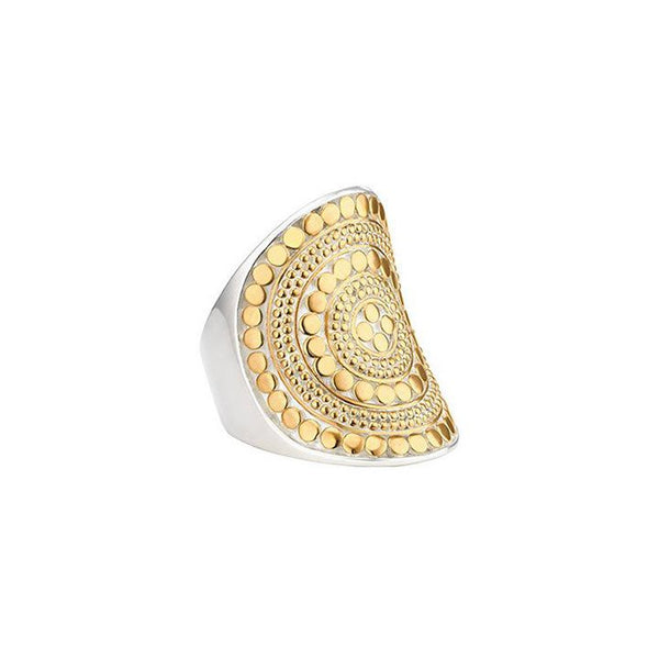 Anna Beck Classic Saddle Ring (Gold) 27RG