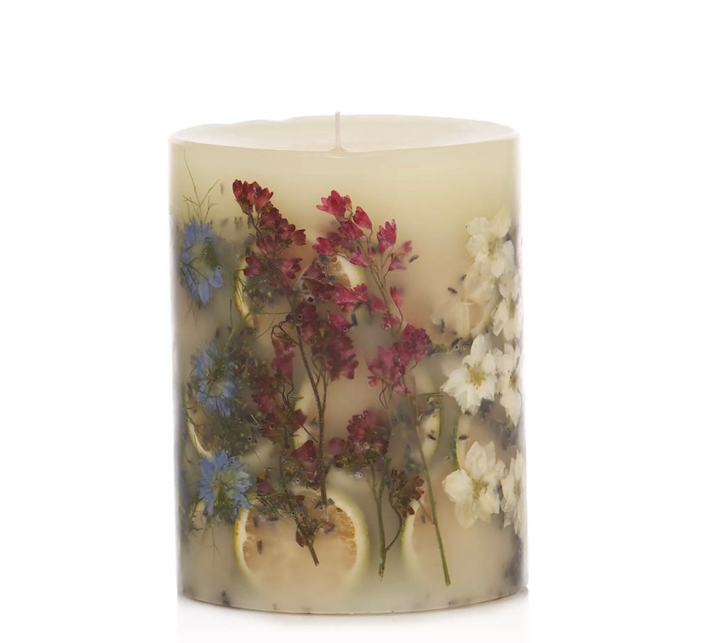 "Lavender Spa 5 "" Round Botanical Candle"