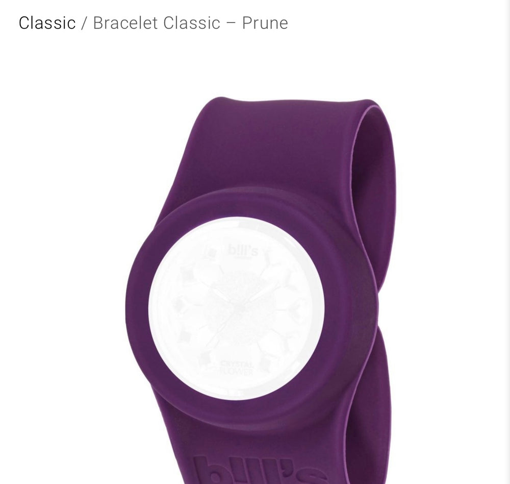 Classic Band Plum Watch