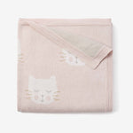 PRINCESS KITTY COTTON KNIT BLANKET