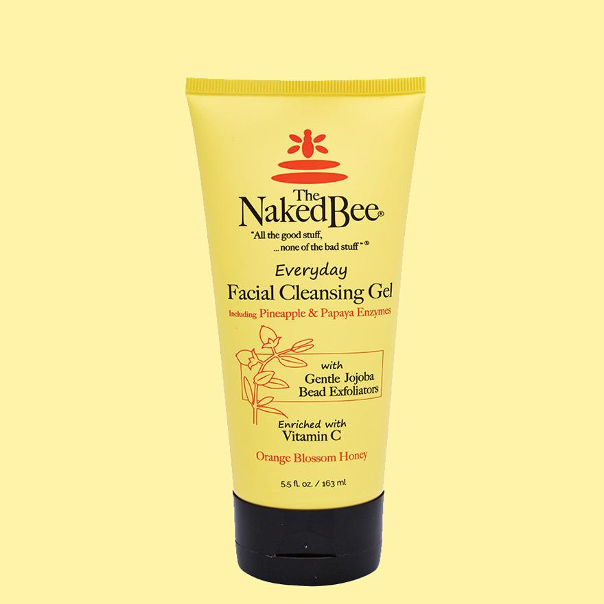 The Naked Bee Everyday Facial Cleansing Gel 5.5 oz