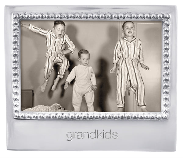 Grandkids Beaded 4 x 6 Frame
