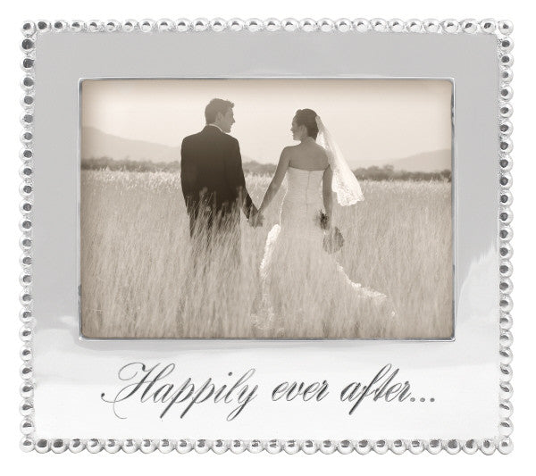Happily Ever After Beaded 5x7 Frame