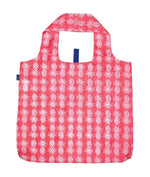 Pink Pineapple Reusable Shopping Bags - Machine Washable set of 2