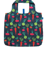 Root Vegetable Reusable Shopping Bags - Machine Washable set of 2