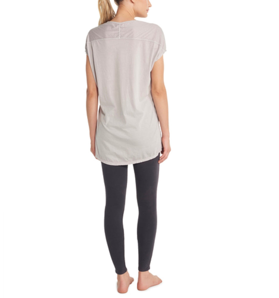 BareFoot Dreams MALIBU COLLECTION® WOMEN'S SCOOP NECK TUNIC MIST PIGMENT