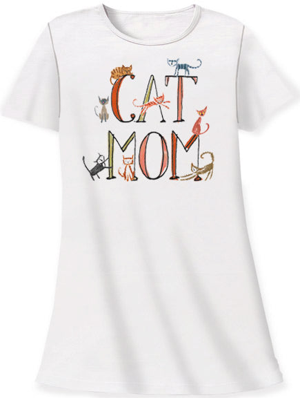 Cat Mom Sleepshirt