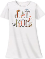 Cat Mom Sleep shirt