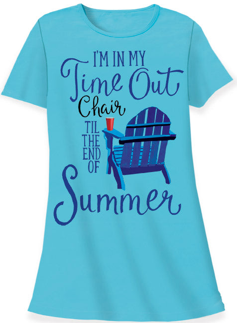Time Out Chair Sleep Shirt