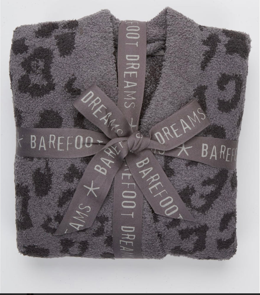 BareFoot Dreams Cozychic In The Wild Robe Graphite /Carbon