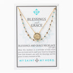 Blessings & Grace Necklace Gold