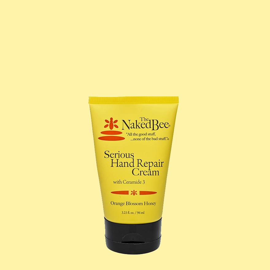 The Naked Bee Serious Hand Repair Lotion Orange Blossom 3.25 OZ