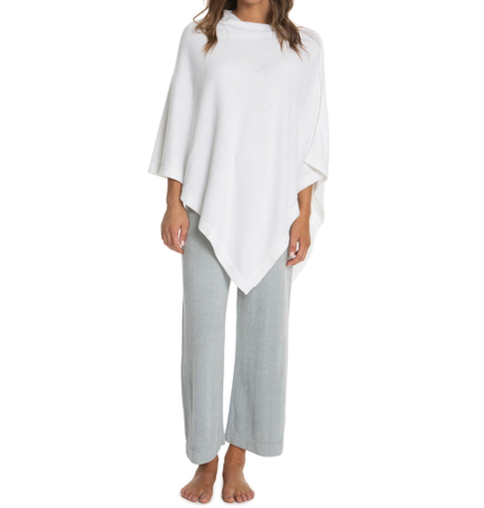 BareFoot Dreams Cozychic Ultra Lite Poncho Sea Salt