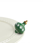 Nora Fleming Mini Trim the Tree (green ornament)