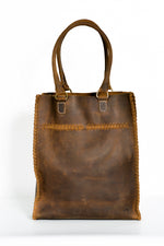 Oak River Sojourner Leather Tote