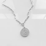 Thatch Alchemy Neck Silver Link Chain