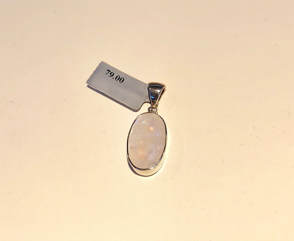 Sterling Silver Moonstone Pendent
