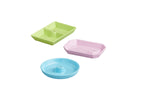 NEW! Nora Fleming Colorful Melamine Dainty Dishes 3pc set.