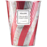 Crushed Candy Cane Candle in Tin 26 OZ