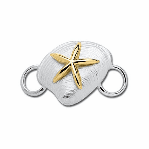 LeStage 14k Clam Shell with Starfish Clasp