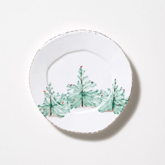 Lastra Holiday Salad Plates