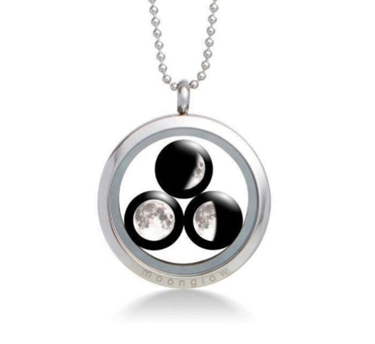 Moonglow Family Locket Necklace
