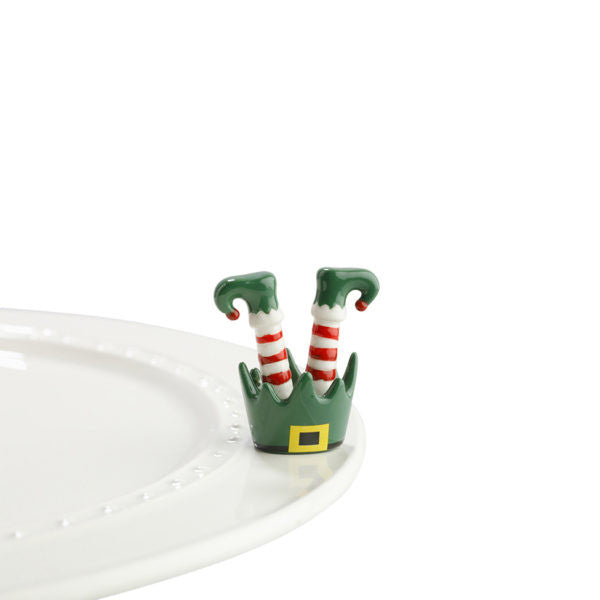 Nora Fleming Mini Jingle Toes (Elf feet)