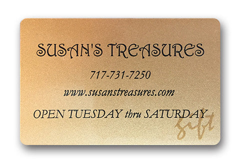 Susan's Treasures Gift Card