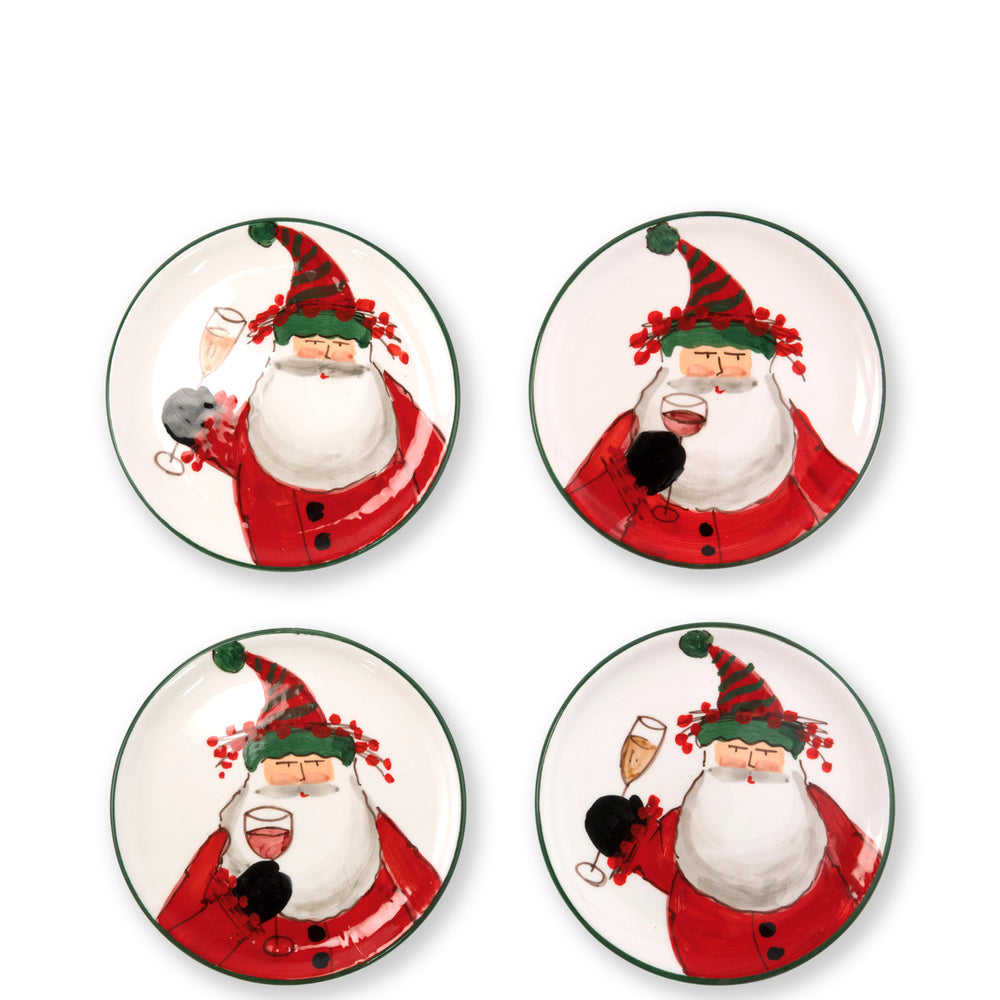 Vietri OLD ST. NICK COCKTAIL PLATES
